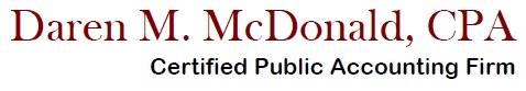 Daren M. McDonald, CPA logo